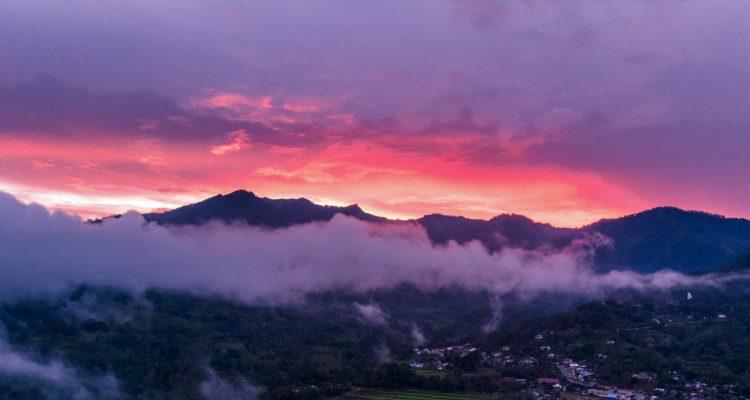 Mt Kelimutu Sunset