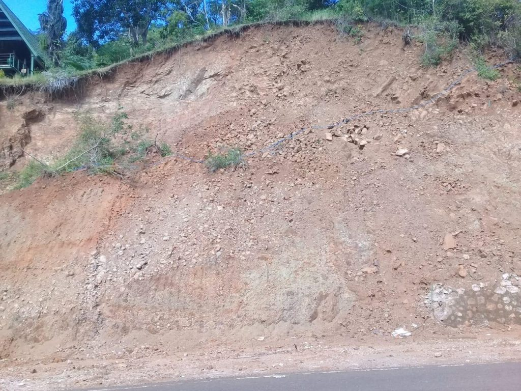 Mbeliling Flores Landslides Disaster in April 2014