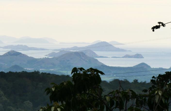 Mbeliling Mountain Range View